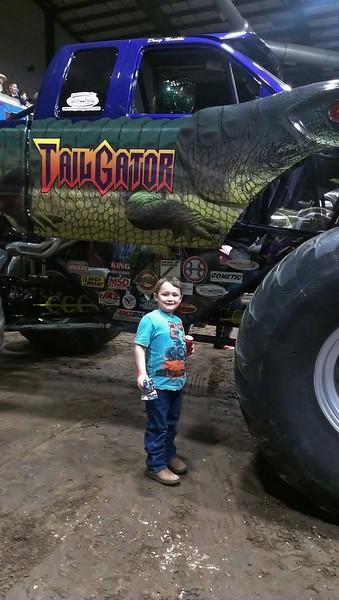 2013-00 Jr & Preslie Monster Trucks