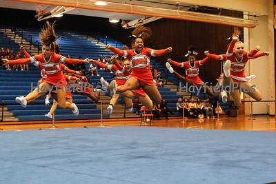 Cheerleaders District Final Tournament 10/23/12
