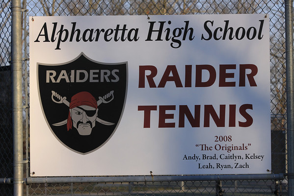 2009 Alpharetta Raiders Tennis