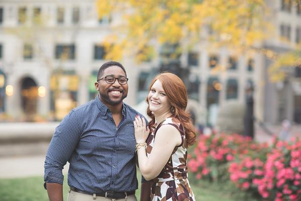 Christine & Travis   Engagement