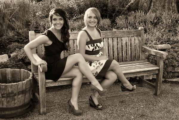 Kendra and Raquel Dabb