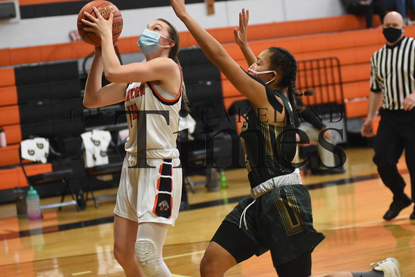 Mercer Girls' Basketball vs. Chequamegon January 22, 2021