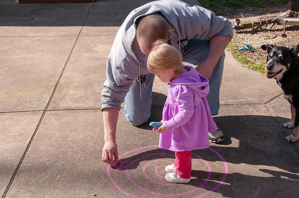 Jenny and Chalk