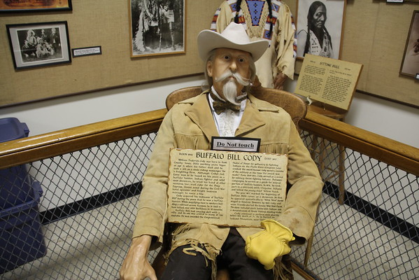 Wax Figures - Mobridge Museum