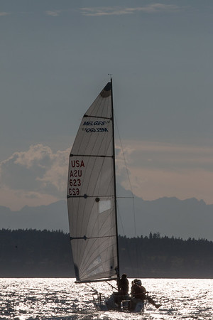 Corinthian Yacht Club Wednesday Night Summer Series yacht racing, July 26, 2o17