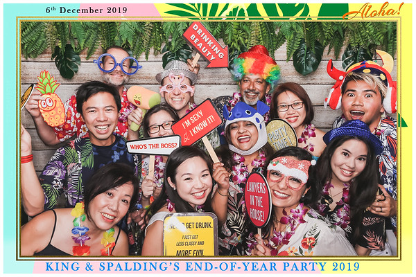 King & Spalding's End of Year Party 2019