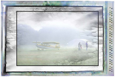 Airport in the Fog