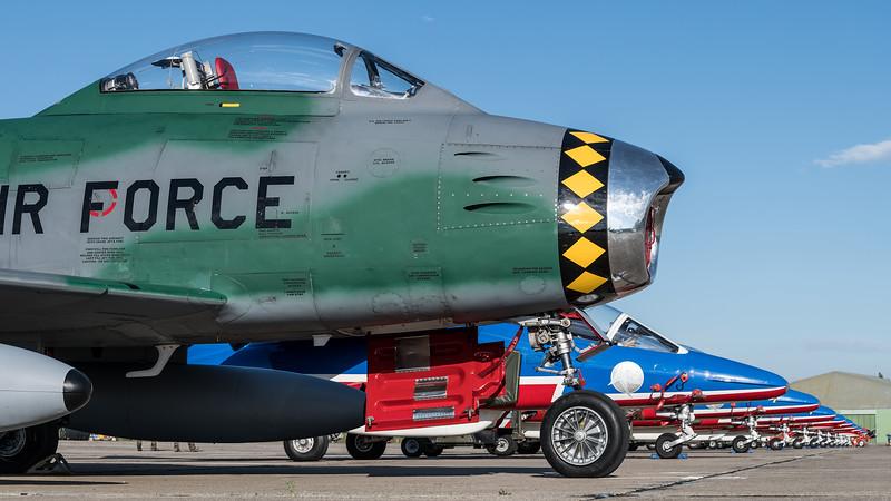 Private / Canadair CL-13B F-86E Sabre / FU-675