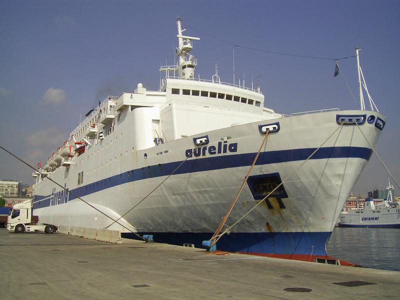 2009 - F/B AURELIA moored in Napoli.