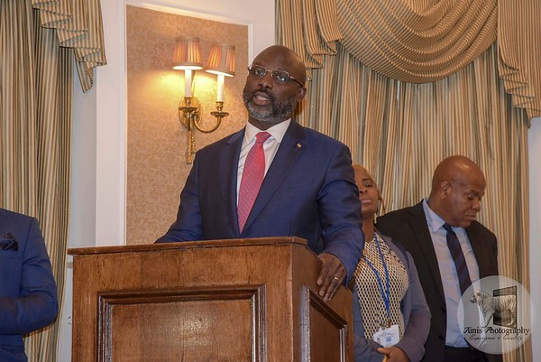 President Weah Visit to the UN General Assembly NYC.