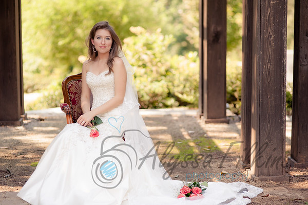 Ashlyn Bridal Portraits