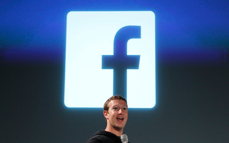 . Facebook CEO Mark Zuckerberg addresses the audience during a media event at Facebook headquarters in Menlo Park, California March 7, 2013. REUTERS/Robert Galbraith