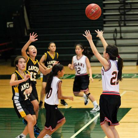 2011 Intermediate II Girls Basketball vs. Sacred Hearts Academy 11/12/11