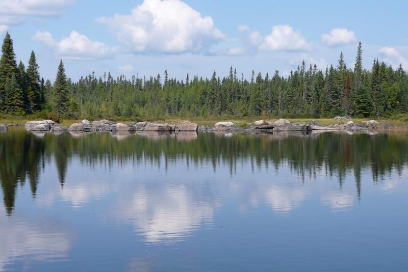 Rivière des Rapides. La Vérendrye Wildlife Reserve