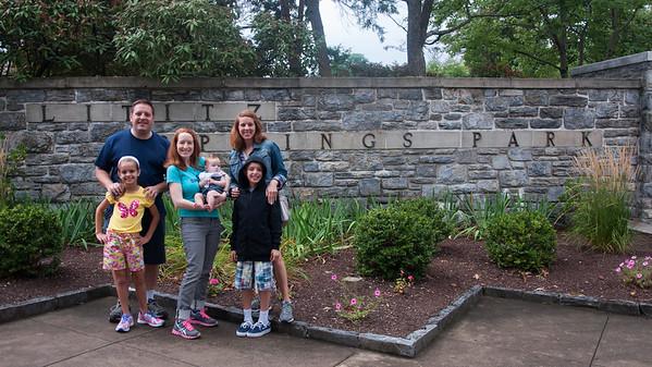 The Hansons visit Allentown PA