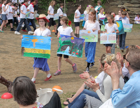 Woodstock Elementary School, May Day Celebration
