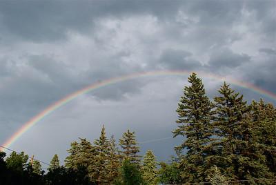 2011 08 08:  Rainbow Display, Home, Duluth MN