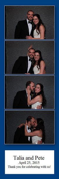 Talia and Peter's Photo Booth Pics