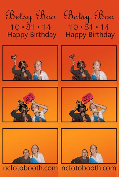 Betsy Boo's Birthday
