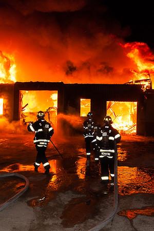 Castle Rock Oak Grove Barn Fire