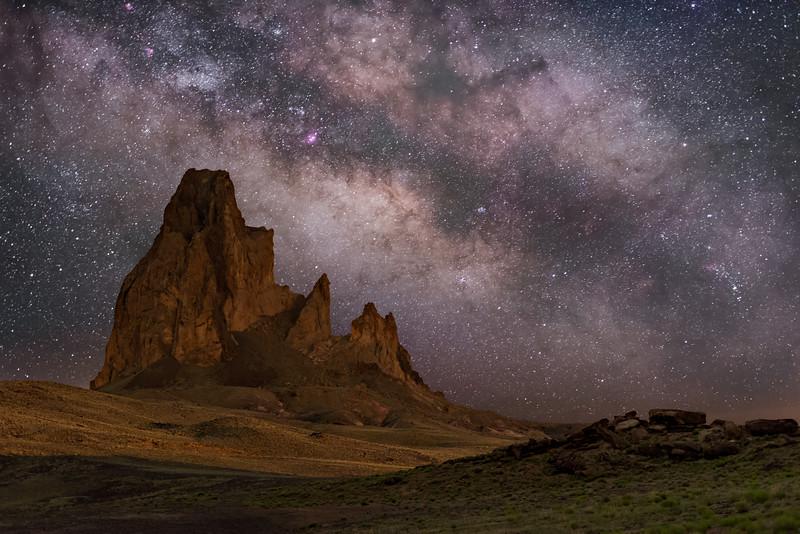Agathla Butte or El Capitan (1)