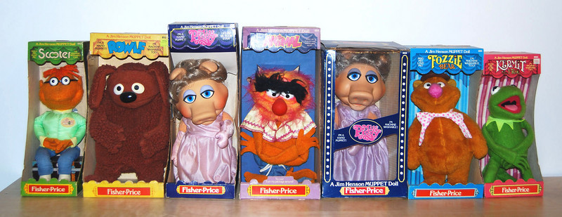 Fisher-Price puppets and plush 1977-1979