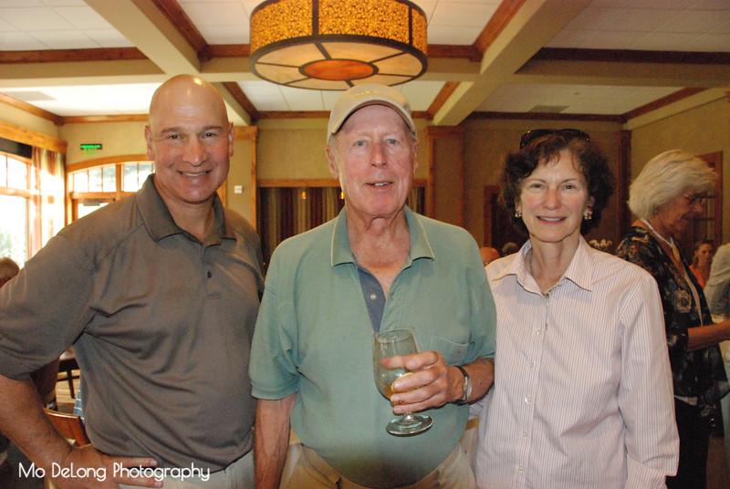 Matt Taddei, Stan Guth and Marge Entwisle