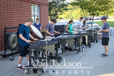 2019-08-29 Percussion Practice