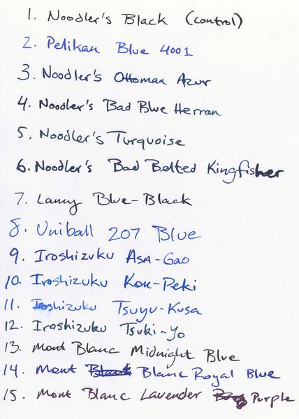 Blue Ink Teardown