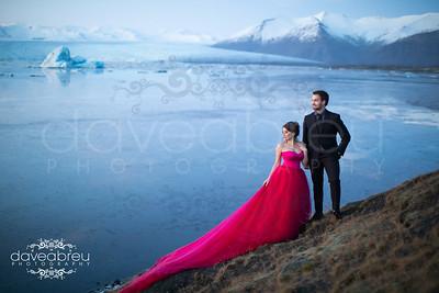 Andrea & Brendan - Iceland Engagement