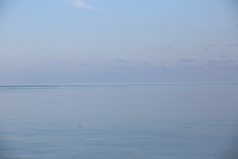 The calm waters of Koh Samui on the gulf of Thailand