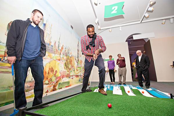 Mini Golf Kickoff Event 2013