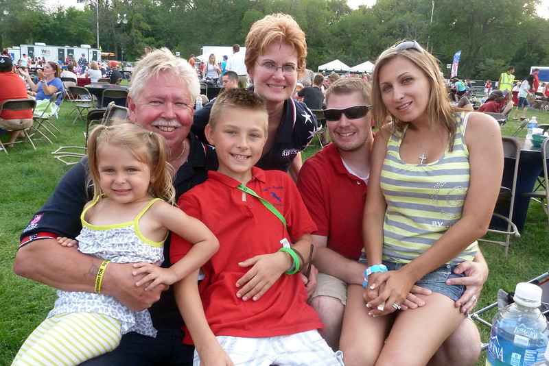 Greg and family at 2013 Ribfest.jpg
