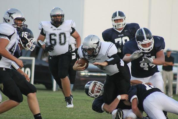 Marlow vs. Lone Grove 2012 Football