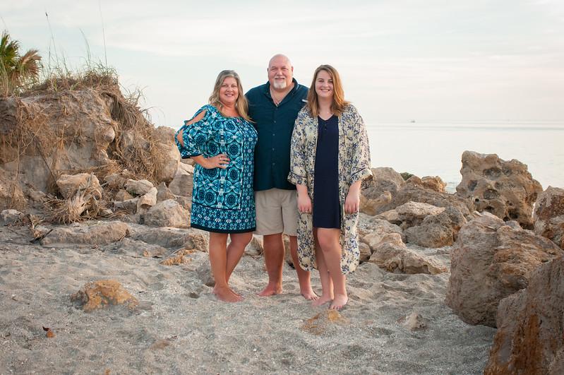 Family Portraits at Casperson Beach, Venice, FL