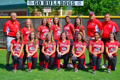 2012 BHS Softball Team Photos