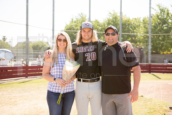 Baseball senior night