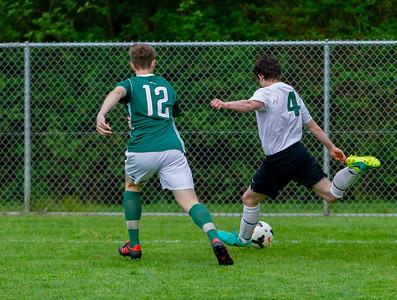 Game Set six through half time: Vashon Island High School Boys Varsity Soccer v Charles Wright - Nisqually League Championship