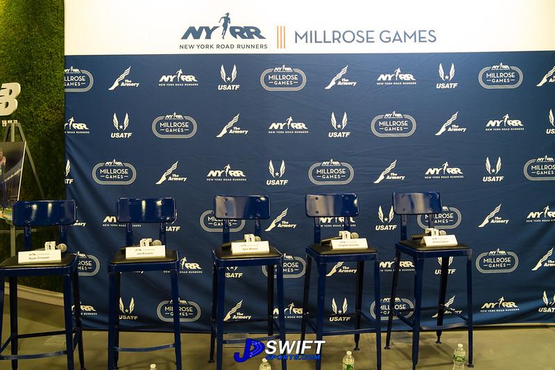 NYRR Millrose Games - Press Conference 2019