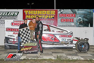 Thunder Mountain Speedway - 9/9/17 - MoJo Photos