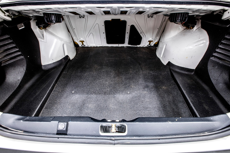 All-Original 1989 VW Jetta Coupe Trunk