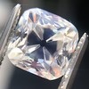 2.56ct Peruzzi/Antique Cushion Cut Diamond GIA L VS1 2