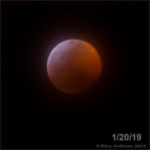 Total Lunar Eclipse 1/20/19
