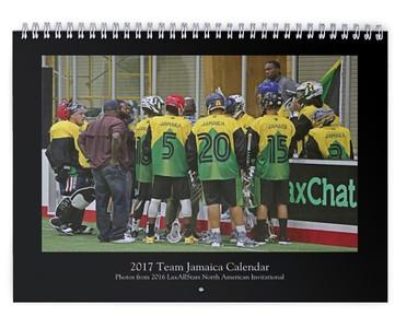 2017 Team Jamaica Calendar (photos from LASNAI2016)