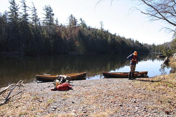Henderson Lake in the Adirondacks, NY - late October, 2006