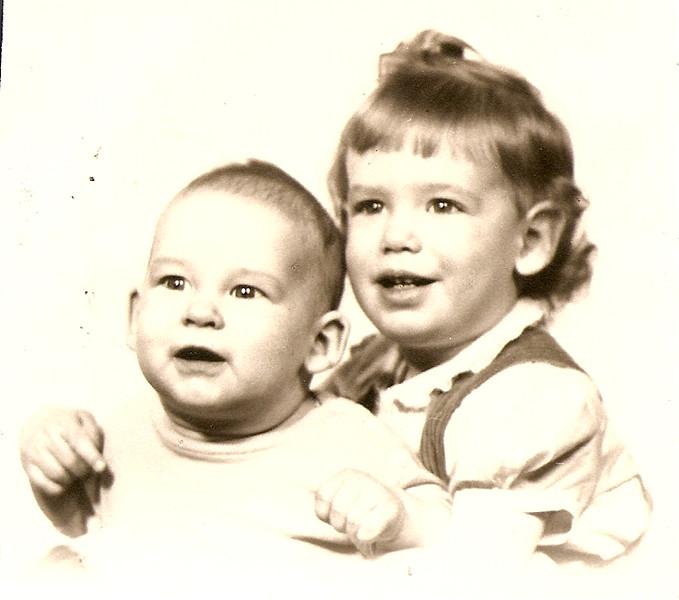 Ed, Jr. & Noreen      1946