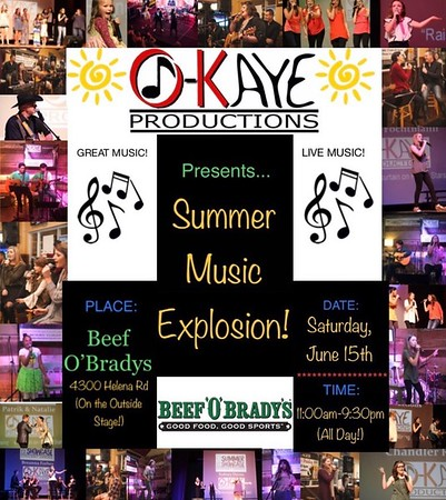Summer Music Explosion
