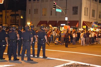 No on 8 - Demonstration/Riot