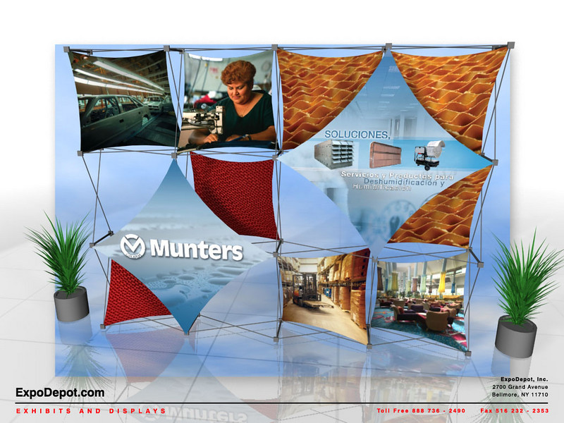 Munters, Xpressions 4x3   http://expodepot.com/xpressions-stretch-fabric-c-293.html