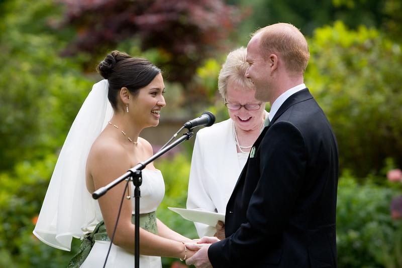 2007 06/23:  Angela and Jeff's Wedding Ceremony